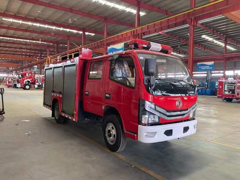 国六东风凯谱特2.5吨水罐消防车