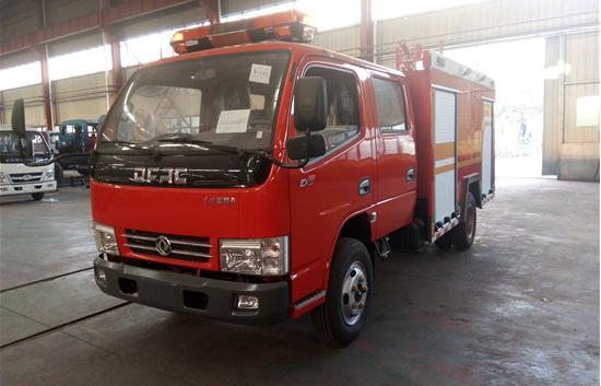 国六消防车东风3吨水罐消防车