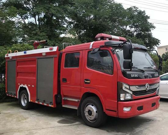 国六消防车东风5吨水罐消防车